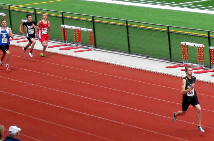Midget running track
